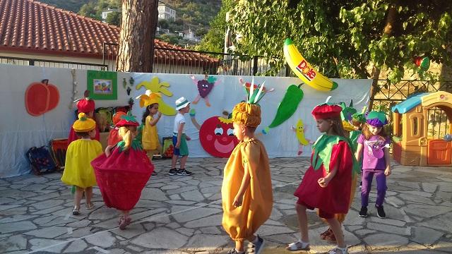 Γιορτή λήξης με χρώματα και αρώματα στην «Ηλιαχτίδα»