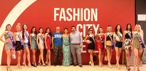 Πλημμύρισε καλλονές το Fashion City Outlet