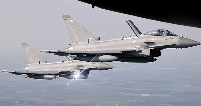 Σύγκρουση δύο Eurofighter στον γερμανικό εναέριο χώρο. Νεκρός ο ένας πιλότος