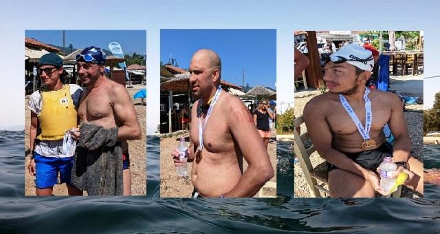 Σύγχρονοι... Ζηργάνοι κολύμπησαν από το Χόρτο μέχρι την Αγριά