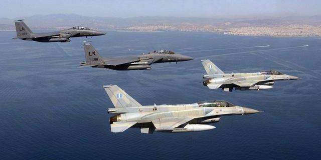 Νέες παραβιάσεις του εθνικού εναέριου χώρου από τουρκικά μαχητικά