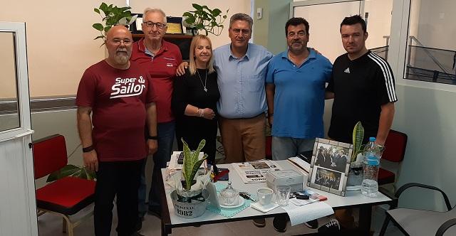 Συνάντηση Γ. Αναστασίου με τις Διοικήσεις των Συλλόγων Πολυτέκνων και Τριτέκνων Μαγνησίας