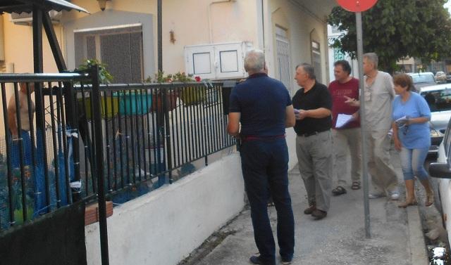 Περιοδεία υποψηφίων βουλευτών του ΚΚΕ στους Αγίους Αναργύρους