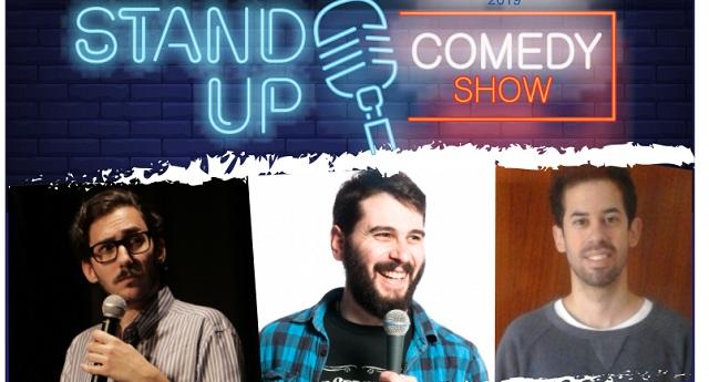 Stand Up Comedy στην παραλία του Βόλου