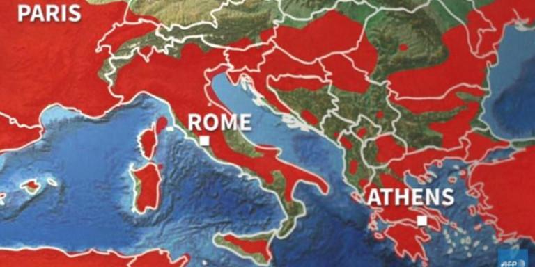 Από Δευτέρα τετραήμερος καύσωνας και στην Ελλάδα