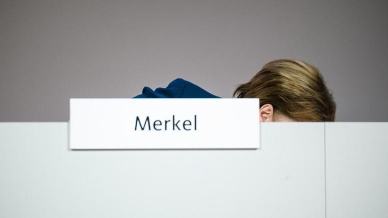 Ανησυχεί η κατάσταση της υγείας της Αγγελα Μέρκελ