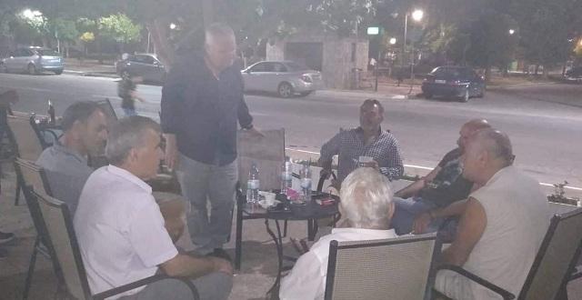 Σε Σούρπη, Πτελεό, Αχίλλειο και Ευξεινούπολη ο Ν. Χαυτούρας