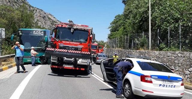 Νεκρός 85χρονος οδηγός σε τροχαίο στα Τέμπη