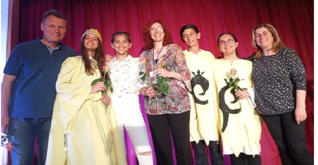 Παράσταση κατά της ξενοφοβίας από μαθητές του Γυμνασίου Κ. Λεχωνίων