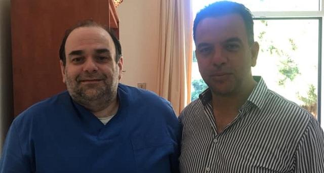Επίσκεψη Τρύφωνα Ε. Πλαστάρα στη Μονάδα Χημειοθεραπείας