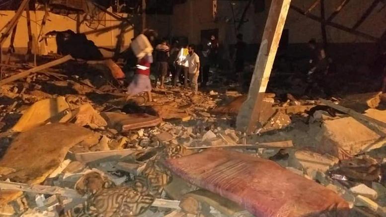Κόλαση στη Λιβύη: Βομβάρδισαν κέντρο προσφύγων. 40 νεκροί