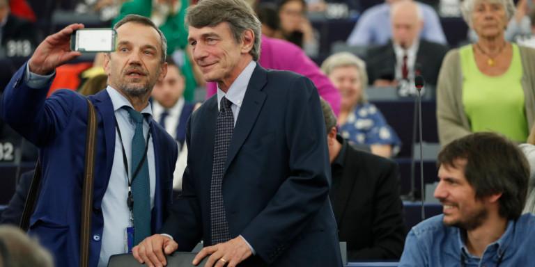O Ιταλός Σοσιαλδημοκράτης Νταβίντ Μαρία Σασόλι νέος πρόεδρος της ευρωβουλής