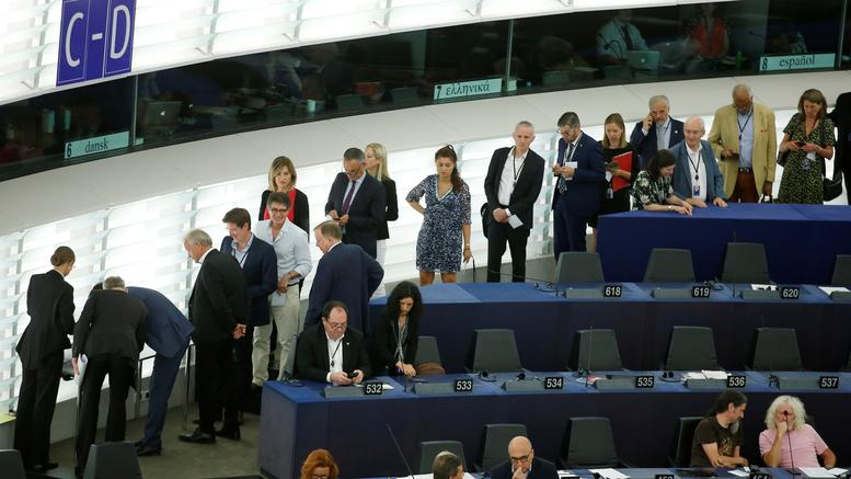 Πρώτη ημέρα στα έδρανα για τους Έλληνες ευρωβουλευτές