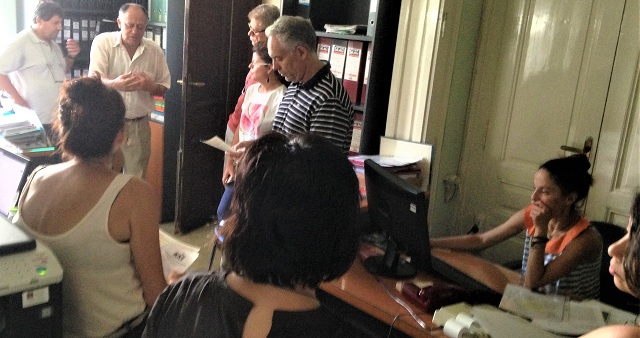 Επίσκεψη υποψήφιων Βουλευτών Μαγνησίας του ΚΚΕ στην 5η Εφορεία Νεοτέρων Μνημείων
