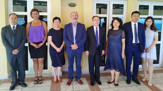 Μνημόνιο συνεργασίας του Nanjing Normal Πανεπιστημίου της Κίνας με το Πανεπιστήμιο Θεσσαλίας