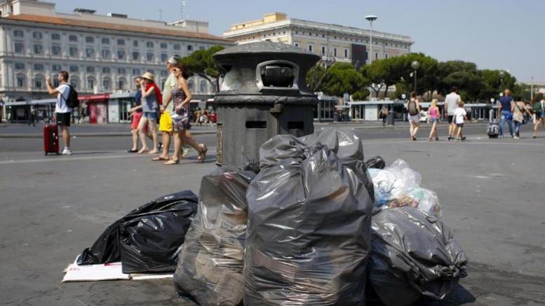Yγειονομική βόμβα τα σκουπίδια στην Ρώμη
