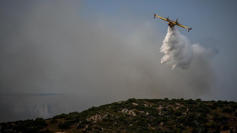 Τέσσερα τα πύρινα μέτωπα στην Εύβοια -Τι εκτιμά η Πυροσβεστική