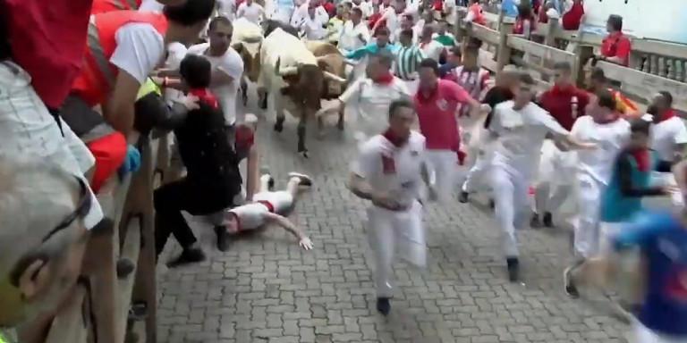 Ισπανία: Πέντε τραυματίες την πρώτη μέρα των ταυροδρομιών της Παμπλόνα