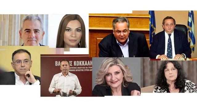 Οι οκτώ νέοι βουλευτές του νομού Λάρισας