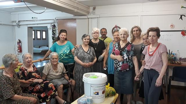 Το ΚΗΦΗ Βόλου προσέφερε καπάκια στην κουζίνα αλληλεγγύης