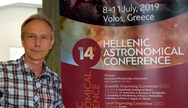 Νίκος Πράντζος: Πηγή ανάπτυξης το διάστημα