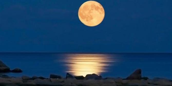 Πανσέληνος και μερική έκλειψη σελήνης στις 16 Ιουλίου