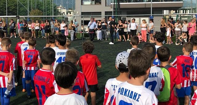 Γιορτή λήξης στο Olimpico Sport Club