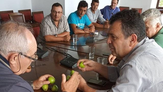 Κοντά στους παραγωγούς του Ανατολικού Πηλίου ο βουλευτής Μαγνησίας Χρήστος Μπουκώρος