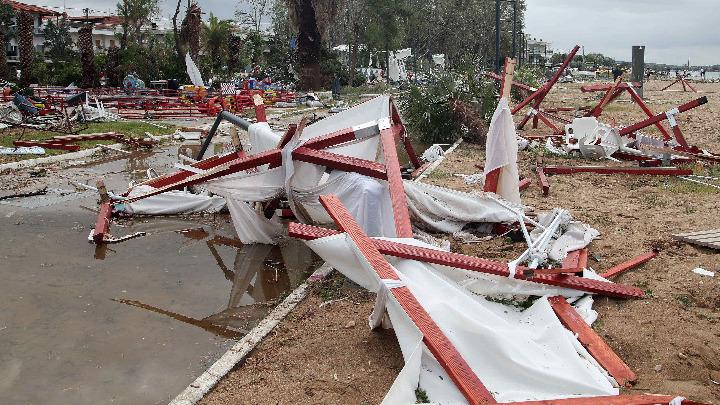Κυβερνητικές πηγές: Οι νεότερες εξελίξεις για την αποκατάσταση των ζημιών στη Χαλκιδική