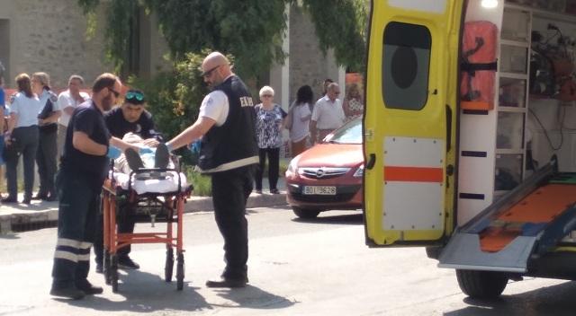 Σοβαρός τραυματισμός πεζού μετά από παράσυρση στη 2ας Νοεμβρίου