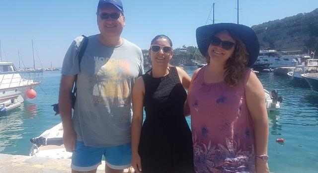 Φιλοξενία του αντιπροέδρου της Ένωσης Bloggers της Ιταλίας στην Αλόννησο