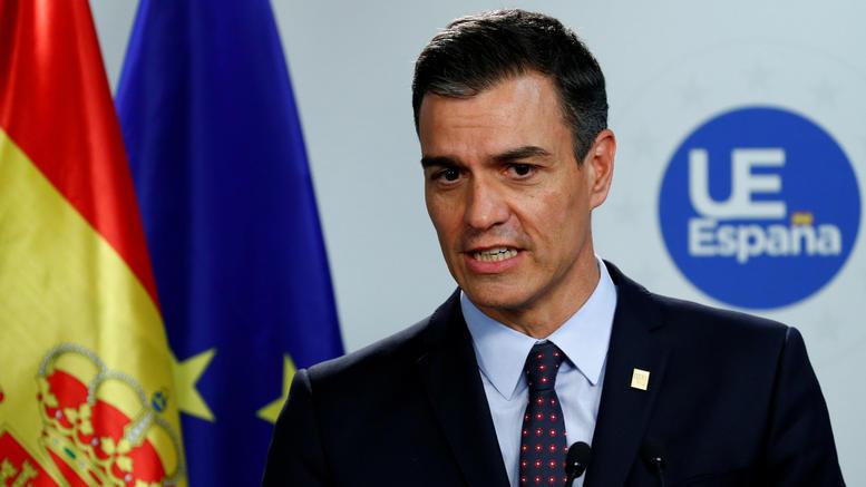 Ο Σάντσεθ κατηγορεί Podemos για τον μη σχηματισμό κυβέρνησης