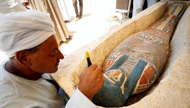 Αποκαλυτικά νέα ευρήματα σε δυο πυραμίδες στο Ντασχούρ