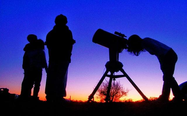 Αστροπαρατήρηση από ομάδα Erasmus του 8ου ΓΕΛ Βόλου