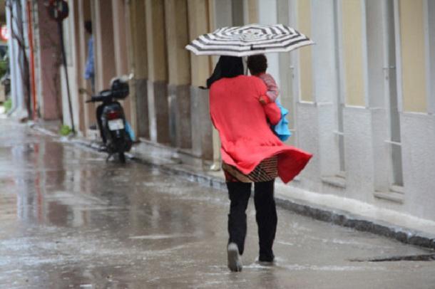 Ισχυρές βροχοπτώσεις αναμένονται σε Μαγνησία και Σποράδες