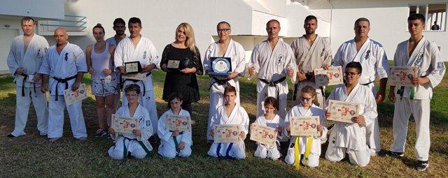 Φινάλε με επιτυχία στο 10ο καλοκαιρινό καμπ Kyokushinkai karate