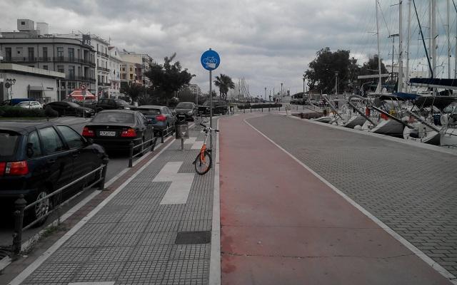 Νέο δίκτυο ποδηλατοδρόμων 7χλμ. στον Βόλο