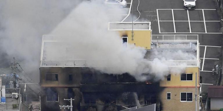 Στις φλόγες κτίριο εταιρίας κινουμένων σχεδίων στην Ιαπωνία με νεκρoύς και 40 τραυματίες