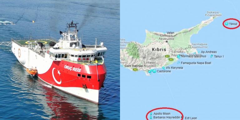 Ανυποχώρητη η Τουρκία: Στέλνει τέταρτο πλοίο στην Κύπρο