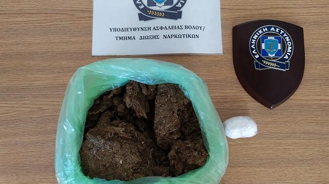 Σύλληψη στην Αλόννησο για διακίνηση κοκαΐνης και χασίς