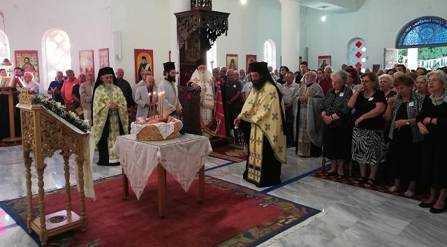 Πανηγύρισε η Μονή του Οσίου Σεραφείμ του Σάρωφ Πορταριάς