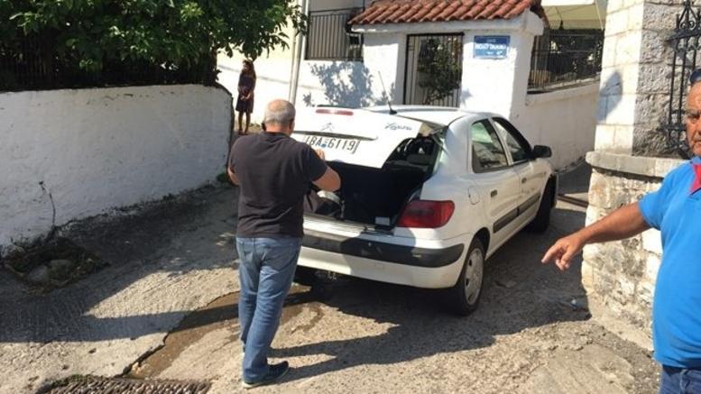 Καταδίωξη με πυροβολισμούς στην Ιονία Οδό [εικόνες]