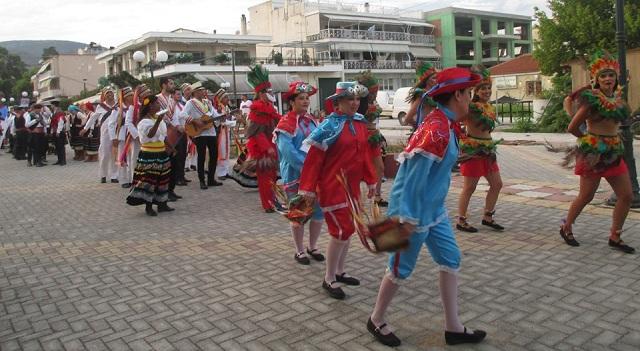 Ο Φιλοπρόοδος Σύλλογος Νέας Αγχιάλου στο 6ο Διεθνές Φεστιβάλ Παραδοσιακών Χορών