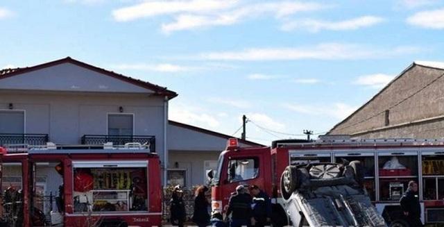 Σφοδρή σύγκρουση τρένου με ΙΧ στη Φλώρινα [εικόνα]