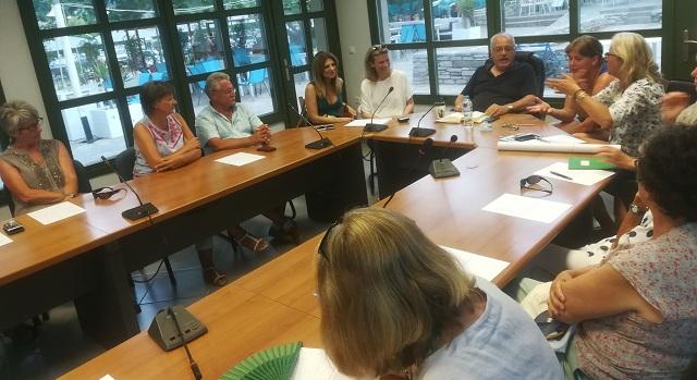 Δράσεις συνεργασίας στην Σκόπελο