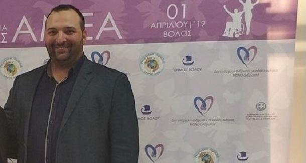 Ο Αθανάσιος Τακμάκης νέος πρόεδρος της ΟΝΝΕΔ Βόλου