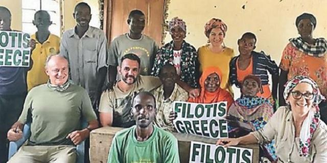 Η πρώην περιφερειακή διευθύντρια Εκπαίδευσης Θεσσαλίας υιοθέτησε ένα χωριό στην Τανζανία