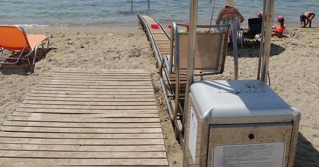 Διαγωνισμός για προσβάσιμες παραλίες στον Δήμο Βόλου