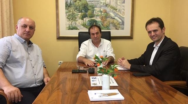 Συναντήσεις γνωριμίας στελεχών της Εταιρείας Φυσικό Αέριο Ελληνική Εταιρεία Ενέργειας