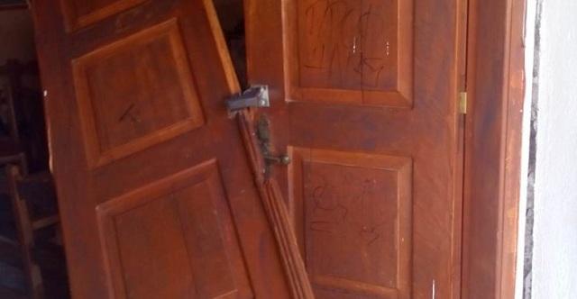 Έσπασαν την πόρτα εκκλησίας στην Λάρισα και έφυγαν με το κουτί με τα κέρματα